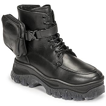 Zapatos Mujer Botas de caña baja Bronx JAXSTAR MID Negro