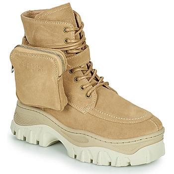 Zapatos Mujer Botas de caña baja Bronx JAXSTAR MID Beige