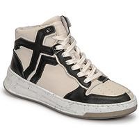 Zapatos Mujer Zapatillas altas Bronx OLD COSMO Blanco / Negro