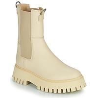 Zapatos Mujer Botas de caña baja Bronx GROOV Y Beige