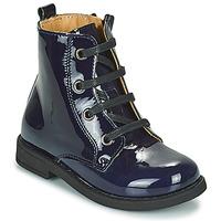 Zapatos Niña Botas de caña baja Citrouille et Compagnie HEMANU Azul
