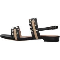 Zapatos Mujer Sandalias Albano 8116 NEGRO