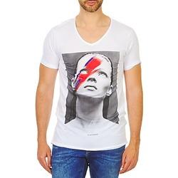 textil Hombre camisetas manga corta Eleven Paris KATOS Blanco