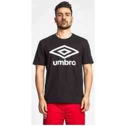 textil Hombre Camisetas manga corta Umbro Camiseta  m/c (00127) Negro