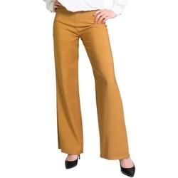 textil Mujer Pantalón de traje Akè F646XBAYING Beige