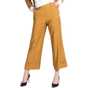 textil Mujer Pantalón de traje Akè F646XBAWEN Beige