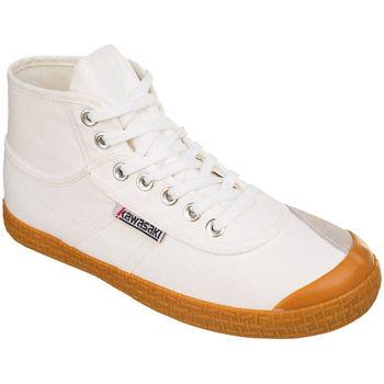 Zapatos Zapatillas altas Kawasaki Original pure boot - white Blanco