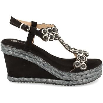 Zapatos Mujer Sandalias H&d N156 Negro