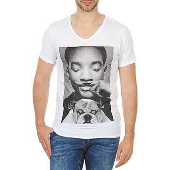 textil Hombre camisetas manga corta Eleven Paris WOLY M Blanco