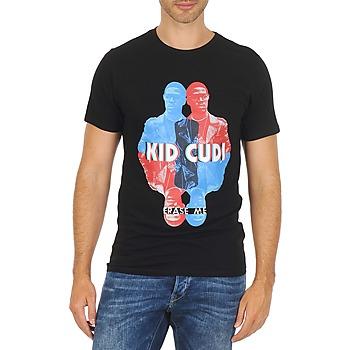 textil Hombre camisetas manga corta Eleven Paris KIDC M Negro