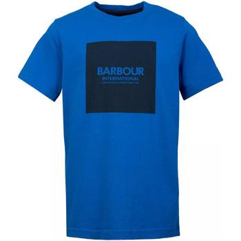 textil Hombre Camisetas manga corta Barbour - T-shirt blu MTS0540-BL54 BLU