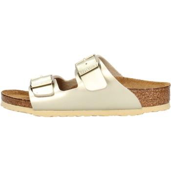 Zapatos Niños Zuecos (Mules) Birkenstock - Arizona oro 1014841 ORO