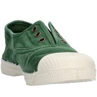 Zapatos Niño Zapatillas bajas Natural World - Scarpa elast verde 470E-689 VERDE
