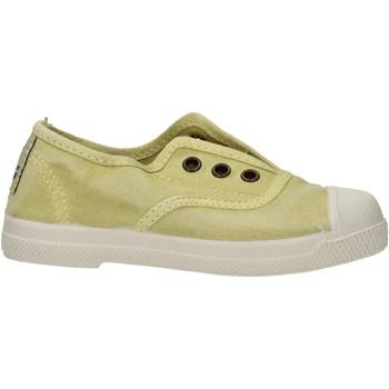 Zapatos Niño Zapatillas bajas Natural World - Scarpa elast verde 470E-675 VERDE