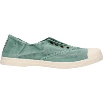 Zapatos Niño Zapatillas bajas Natural World - Sneaker verde 102E-689 VERDE