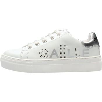 Zapatos Niño Zapatillas bajas GaËlle Paris - Sneaker bianco G-601 BIANCO