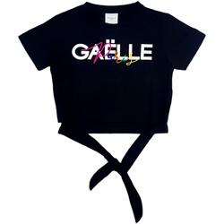 textil Niña Tops / Blusas GaËlle Paris - T-shirt nero 2746M0341 NERO