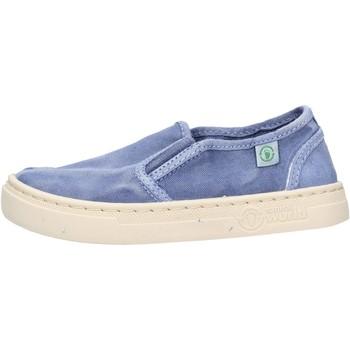 Zapatos Niño Slip on Natural World - Slip on  blu 6472E-690 BLU