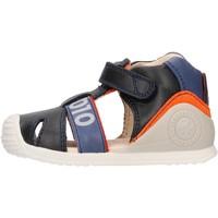 Zapatos Niño Sandalias Biomecanics - Gabbietta blu 212139 BLU