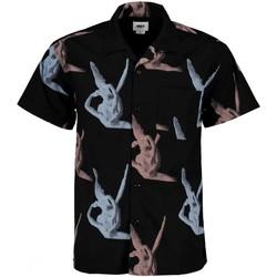 textil Hombre Camisas manga corta Obey - Camicia nero 22121MC000074 BKM NERO