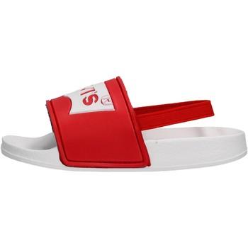 Zapatos Niño Chanclas Levi's - Pool mini bco/rosso VPOL0062S-0206 ROSSO-BIANCO