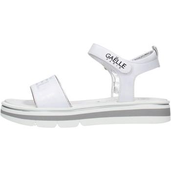 Zapatos Niña Sandalias GaËlle Paris - Sandalo bianco G-840 BIANCO