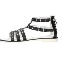 Zapatos Niña Sandalias GaËlle Paris - Sandalo nero G-970 NERO