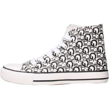 Zapatos Niños Zapatillas altas GaËlle Paris - Sneaker bianco G-981 BIANCO