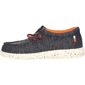 Zapatos Niño Deportivas Moda Hey Dude - Sneaker grigio WALLY YOUTH 2118 BLU