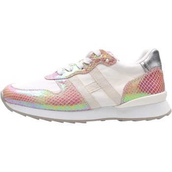 Zapatos Niño Zapatillas bajas Hogan - J484 bco/rosa HXC4840CY50PEI852Z BIANCO