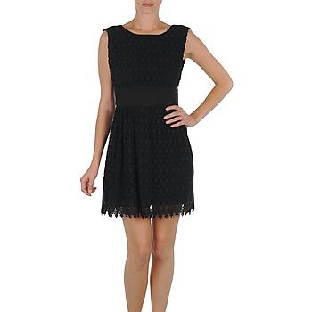 textil Mujer vestidos cortos Eleven Paris DEMAR Negro