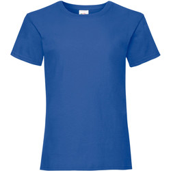 textil Niña Camisetas manga corta Fruit Of The Loom 61005 Azul