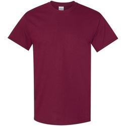 textil Hombre Camisetas manga corta Gildan 5000 Granate