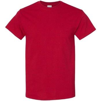 textil Hombre Camisetas manga corta Gildan 5000 Rojo Cereza Antique
