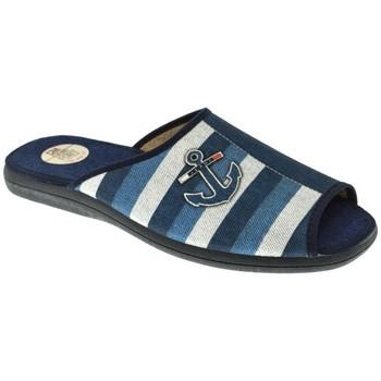 Zapatos Hombre Pantuflas Calzamur ZAPATILLAS SR   MARINO Azul