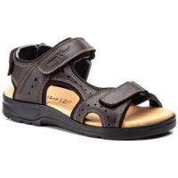 Zapatos Hombre Sandalias Morxiva Shoes Sandalias de hombre de piel by Morxiva Marron