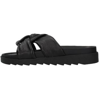 Zapatos Mujer Zuecos (Mules) Apepazza S1SOFTWLK01/LEA NEGRO