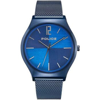 Relojes & Joyas Hombre Relojes analógicos Police PL15918JSBL.03MM, Quartz, 44mm, 3ATM Azul