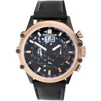Relojes & Joyas Hombre Relojes analógicos Police PL16018JSBR.02, Quartz, 49mm, 3ATM Oro