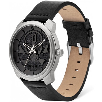 Relojes & Joyas Hombre Relojes analógicos Police PL15714JS.02, Quartz, 44mm, 3ATM Plata