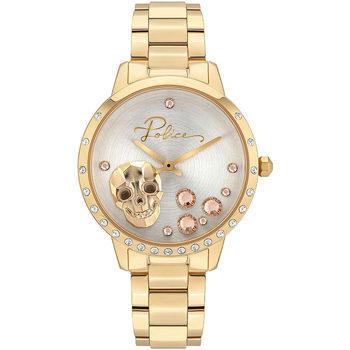 Relojes & Joyas Mujer Relojes analógicos Police PL16071MSG.22M, Quartz, 36mm, 3ATM Oro