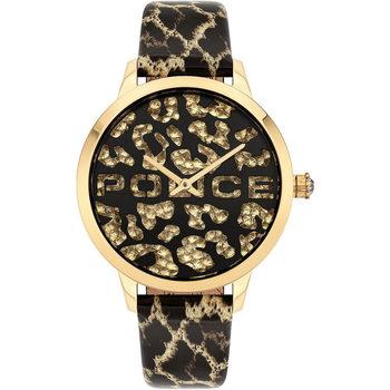 Relojes & Joyas Mujer Relojes analógicos Police PL16028MSG.02, Quartz, 36mm, 3ATM Oro
