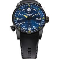 Relojes & Joyas Hombre Relojes analógicos Traser H3 Traser 109742, Automatic, 46mm, 10ATM Negro