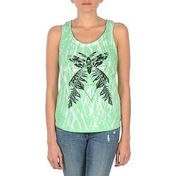 textil Mujer camisetas sin mangas Eleven Paris PAPILLON DEB W Verde / Blanco