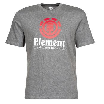 textil Hombre Camisetas manga corta Element VERTICAL SS Gris