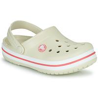 Zapatos Niños Zuecos (Clogs) Crocs CROCBAND CLOG K Beige / Naranja
