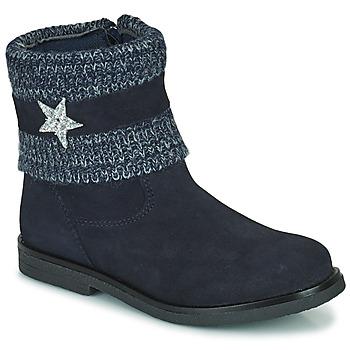 Zapatos Niña Botas de caña baja Citrouille et Compagnie PASTEK Marino