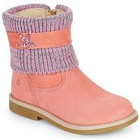 Zapatos Niña Botas de caña baja Citrouille et Compagnie PASTEK Rosa