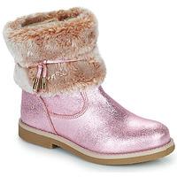 Zapatos Niña Botas de caña baja Citrouille et Compagnie PAKRETTE Rosa