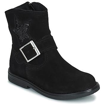 Zapatos Niña Botas de caña baja Citrouille et Compagnie POUDRE Negro